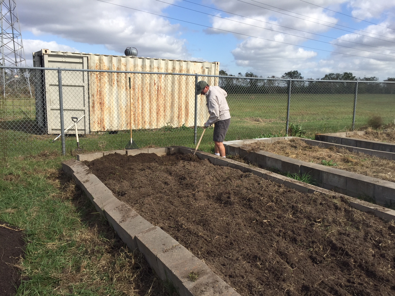Rebuilding The Challenger 7 Garden