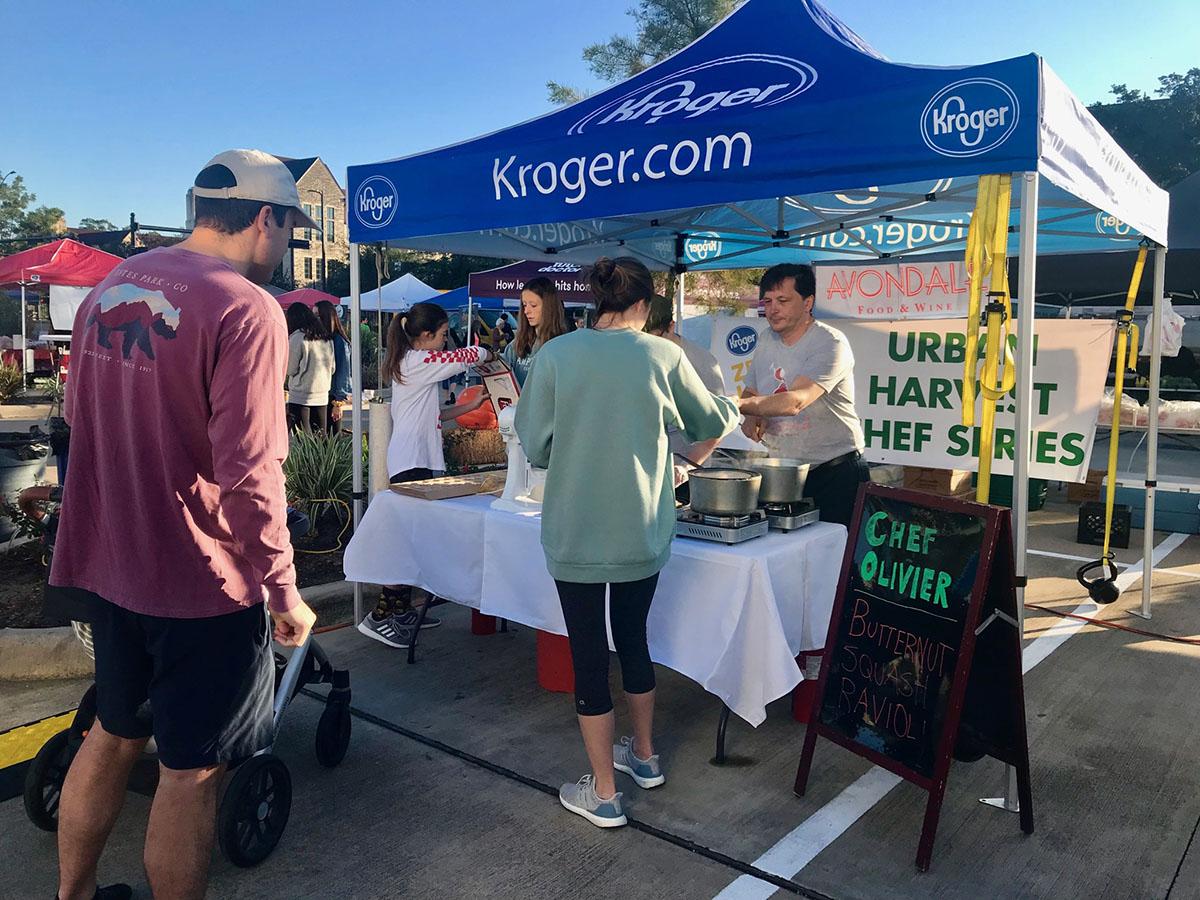 Kroger Chef Series website