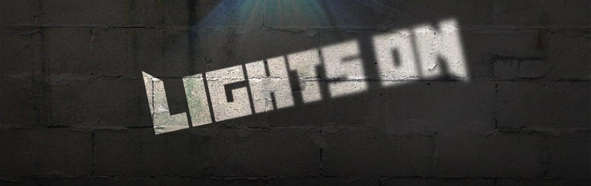 Logo copertina Lights on
