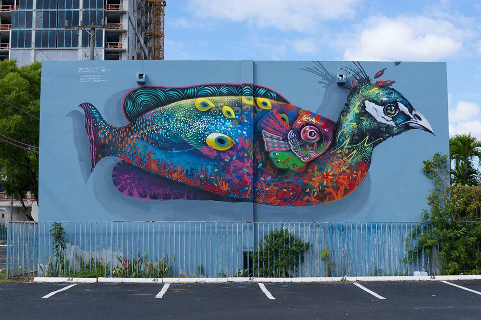 Ernesto Maranje x Sea Walls: Artists for Oceans in Miami, FL — Urbanite