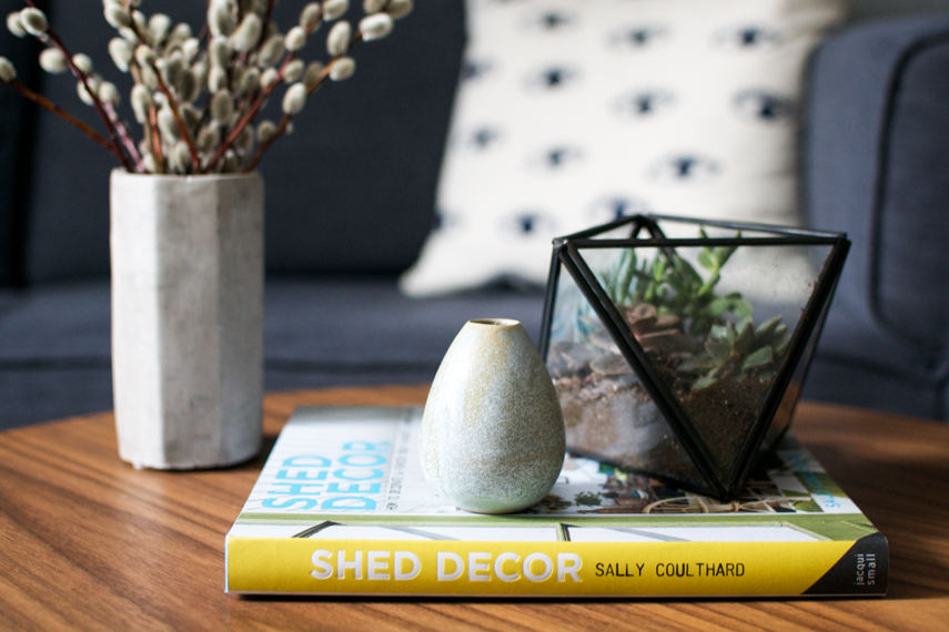 Shed decor book review giveaway urban jungle bloggers for Decoration urban jungle
