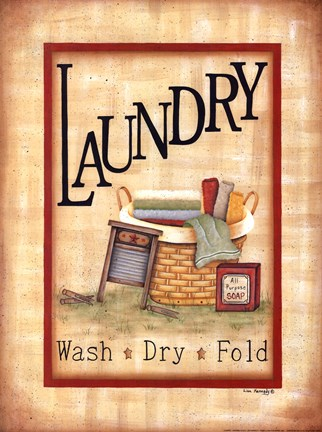 Laundry Fine Art Print By Lisa Kennedy At