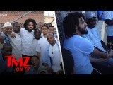 J. Cole Hangs With San Quentin Inmates | TMZ TV