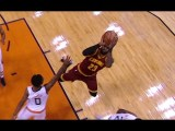 LeBron James With His 10,000 Career Field Goal
