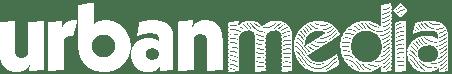 urbanmedia white logo