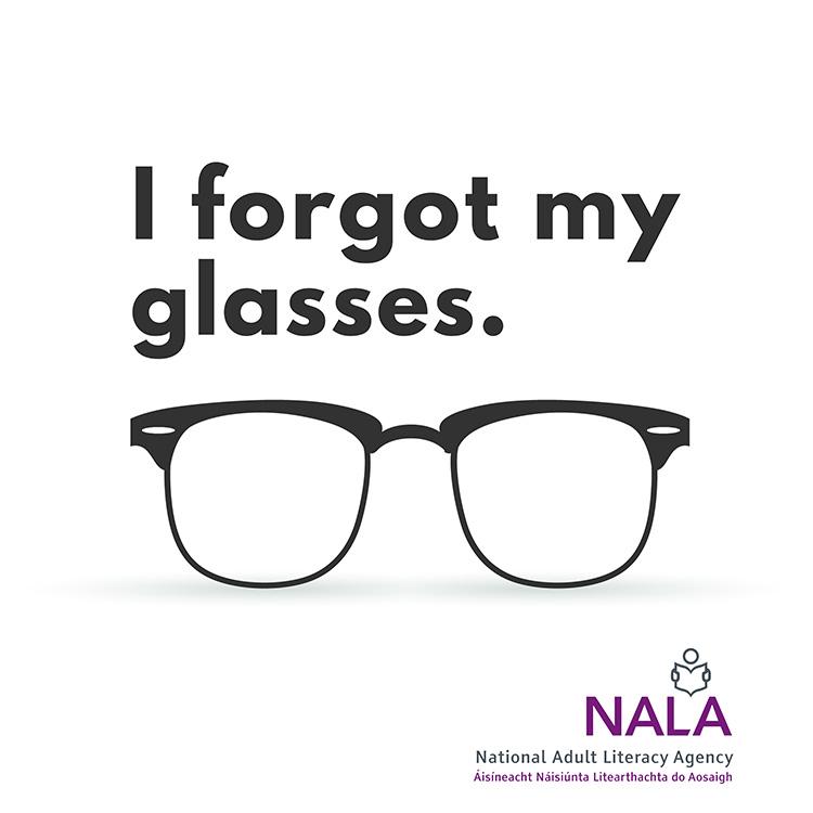 NALA Forgot Glasses podcast cover