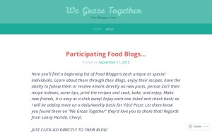 cCheck Out We Graze Together