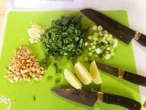 Get your Mis together - Pad Thai prep