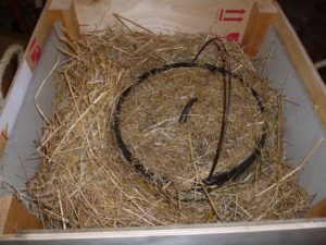 Straw Box - The original slow cooker.