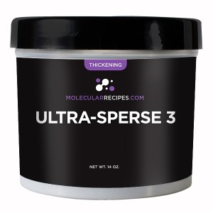 Ultra Sperse is an amazing thickener