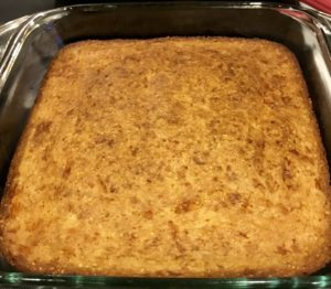 What Monica calls the best cornbread I've ever made