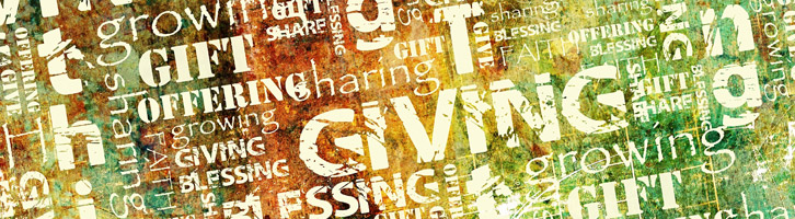 tithing, giving