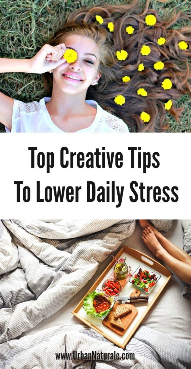 Top Creative Tips to Lower Daily Stress from Urban Naturale