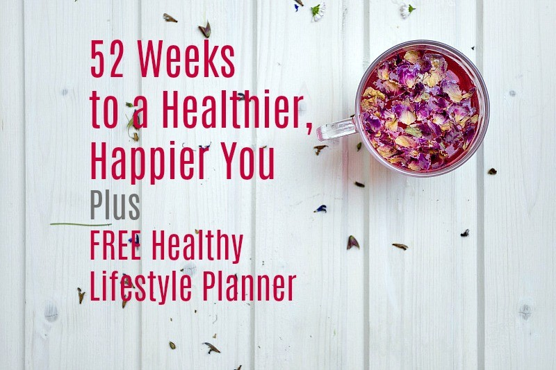 Kickstart Your Healthy New Year: 52 Weeks to a Healthier, Happier You PLUS Free Healthy Lifestyle Planner by Urban Naturale