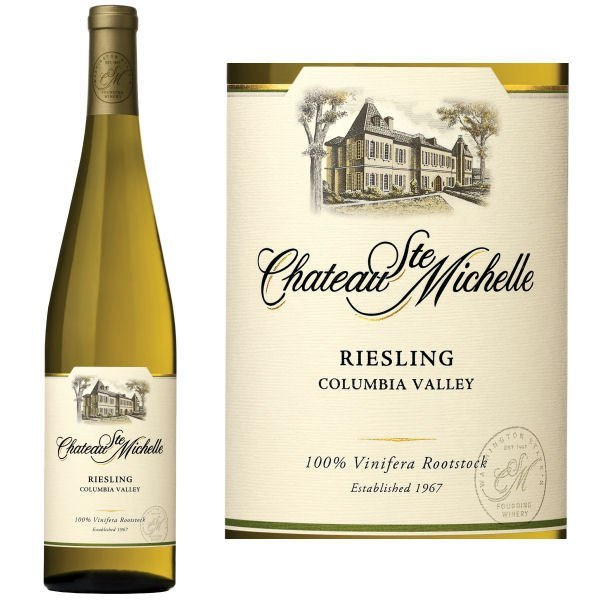 Chateau Ste. Michelle Columbia Valley, Washington, Riesling, 2016