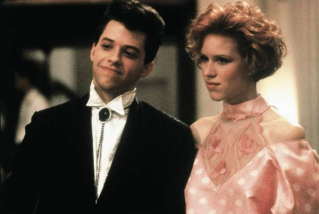 Andie's Home-Altered Pink Prom Dress in 'Pretty in Pink'