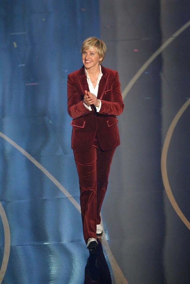 STYLECASTER | Best Celeb Women's Suits | Ellen DeGeneres