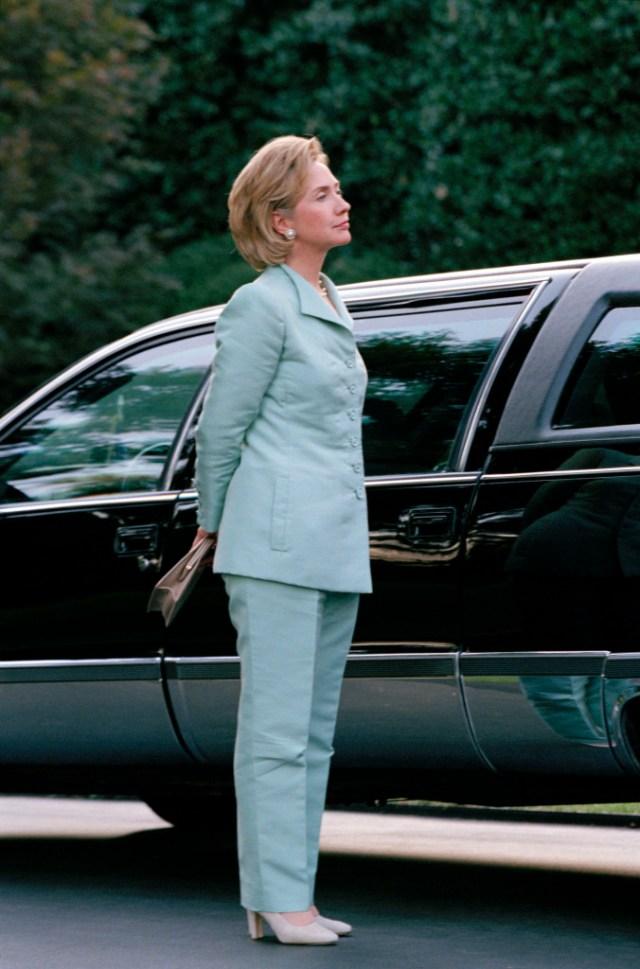 STYLECASTER | Best Celeb Women's Suits | Hillary Clinton
