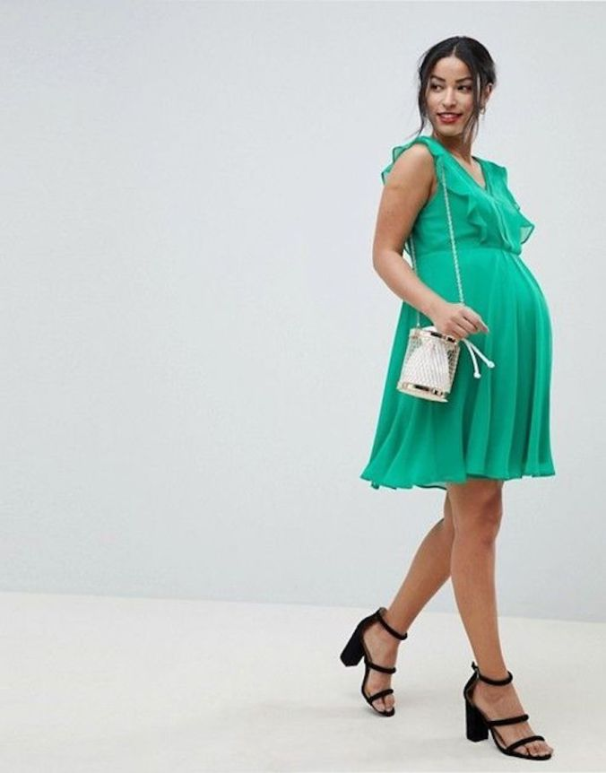 98c335486fd5 STYLECASTER | 37 Cute Maternity Dresses That Are Truly Perfect for Valentine's  Day