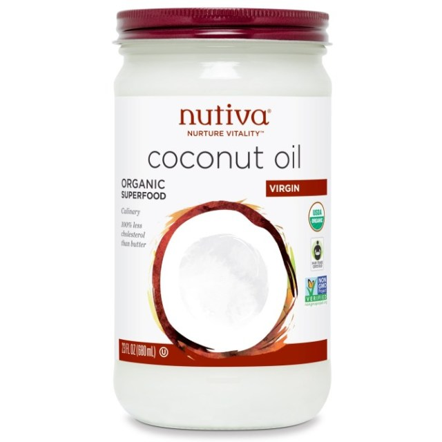 nutiva organic coconut oil stylecaster Meghan Markles Facialist Swears By These Pantry Ingredients For Radiant Skin