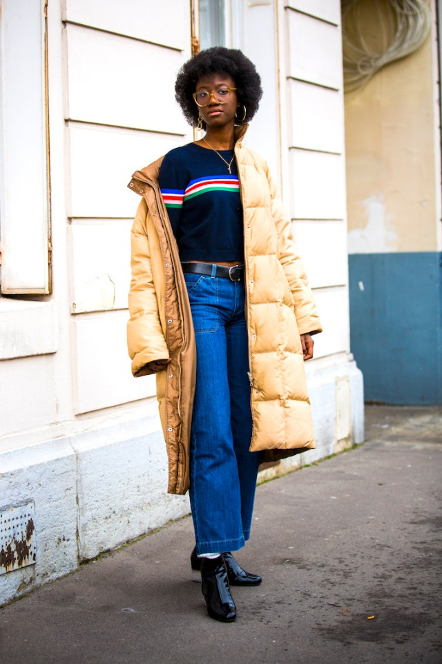 STYLECASTER   How to Style Your Favorite Puffy Coat Without Looking Like the Michelin Man