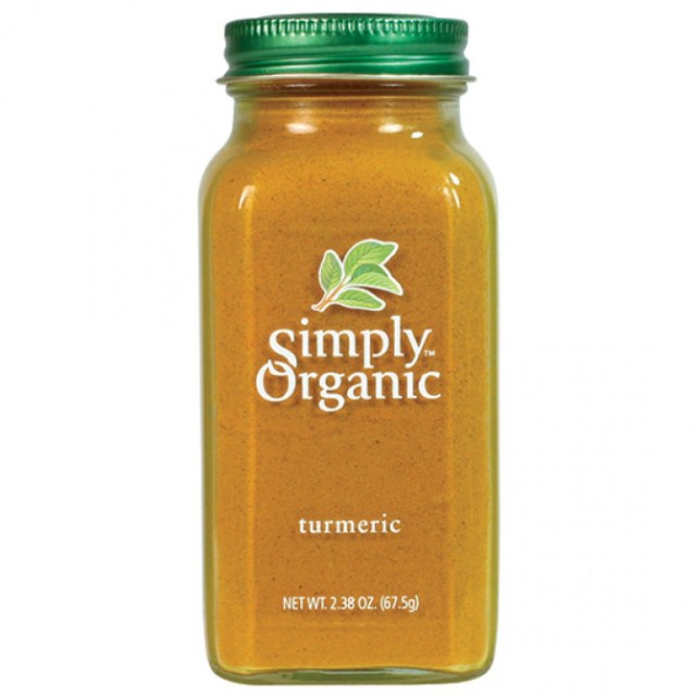 simply organic bottled spice turmeric 18525 front 15 Meghan Markles Facialist Swears By These Pantry Ingredients For Radiant Skin