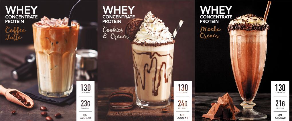 whey protein sabor cafe chocolate mocha cream