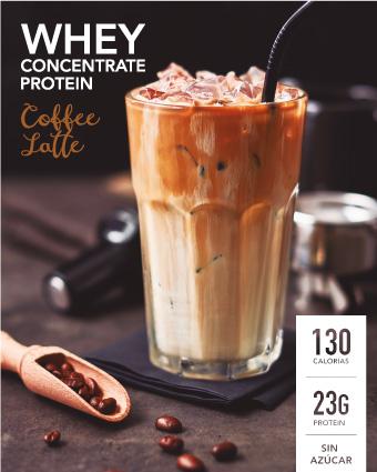 nueva proteina concentrada de cafe latte