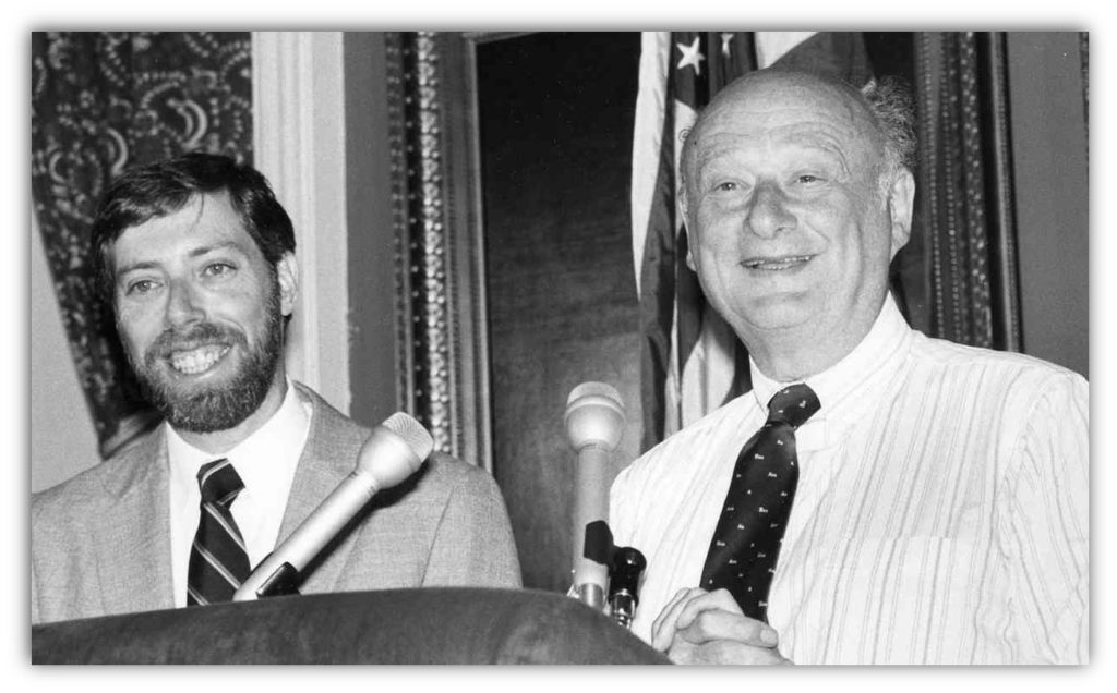 Gridlock Sam Schwartz with Mayor Ed Koch
