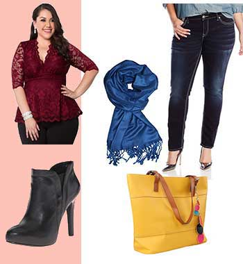 Affordable plus size clothing