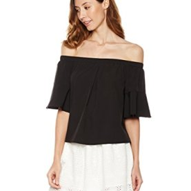 Half Bell Sleeve Top