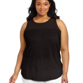 Women's Plus-Size Sleeveless Top