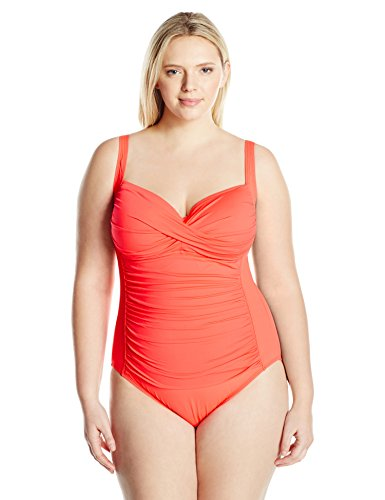 Front Bandeau One Piece Swimsuit