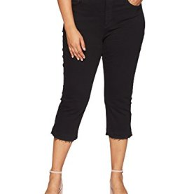Plus Size Capri Released Hem