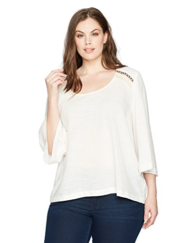 Sleeve Scoop Neck Skimmer Tee