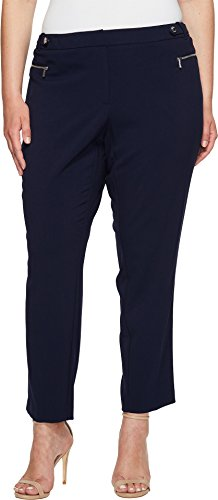 Straight Pant Buckle and Zip