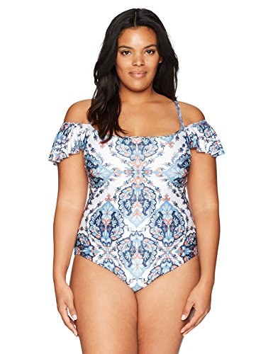 Naples Off The Shoulder One Piece Swimsuit