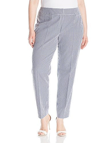 Plus Size Gingham Pant