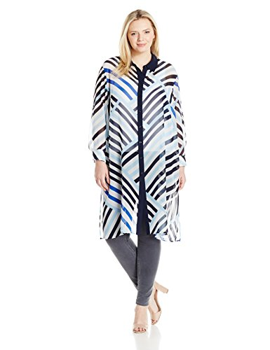 Button Front Long Tunic