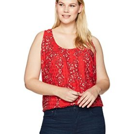 Plus Size Paisley Tank Top