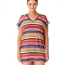 Mesh Striped Cover up