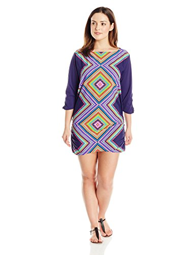 Desert Diamond Tunic Cover Up