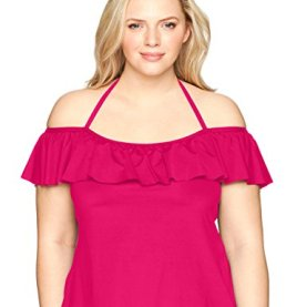 Color Splash Tankini Top