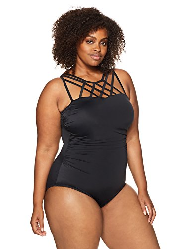Top Strap Detail One Piece Swimsuit