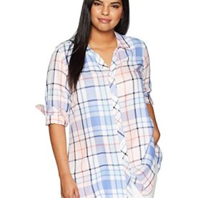 Zena Herringbone Plaid Tunic