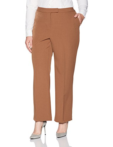 Stretch Crepe Straight Legged Pant
