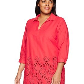 Embroidered Eyelet Tunic