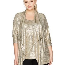 Plus Size Printed Heather Jersey