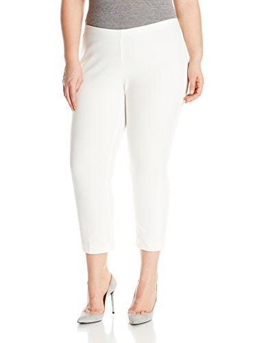 Plus Size Cropped Flare Pant