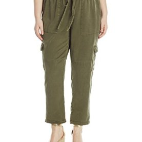 Solid Cargo Pant